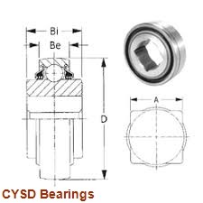 19,05 mm x 44,45 mm x 12,7 mm  CYSD 1635-RS deep groove ball bearings