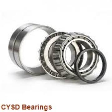 20 mm x 52 mm x 22,2 mm  CYSD 3304 angular contact ball bearings