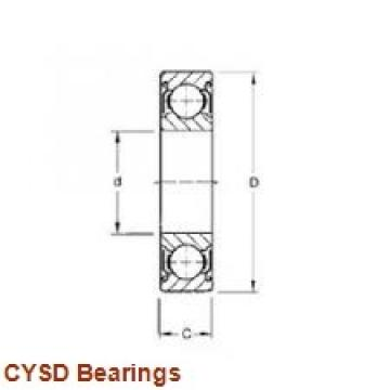 80 mm x 170 mm x 39 mm  CYSD 30316 tapered roller bearings