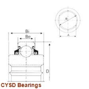 20 mm x 52 mm x 22,2 mm  CYSD 5304ZZ angular contact ball bearings