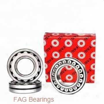 65 mm x 110 mm x 31 mm  FAG T2DD065 tapered roller bearings