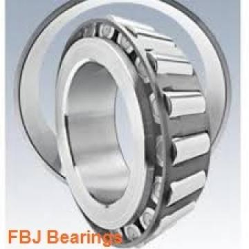 90 mm x 190 mm x 43 mm  FBJ NJ318 cylindrical roller bearings