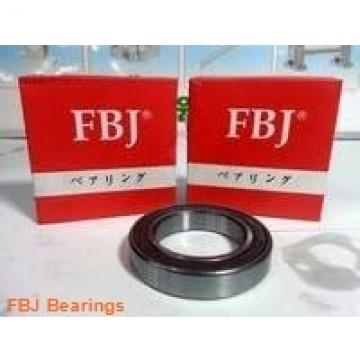 45 mm x 100 mm x 25 mm  FBJ 7309B angular contact ball bearings