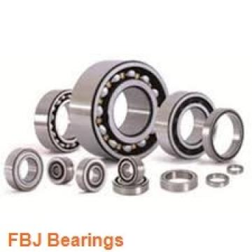 17 mm x 30 mm x 17 mm  FBJ GEEW17ES-2RS plain bearings