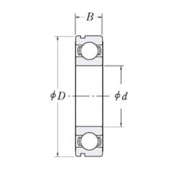 105 mm x 145 mm x 20 mm  CYSD 6921N deep groove ball bearings